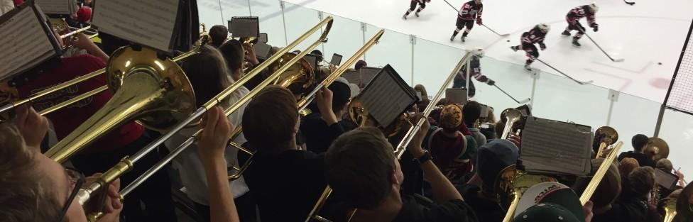 Hockey Playoff Pep Band Games Set