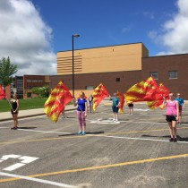 summer colorguard