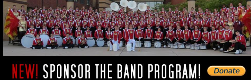 New! Sponsor The Band Program!